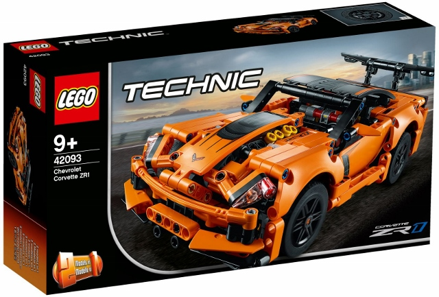 42093 Chevrolet Corvette Zr1 Klocki Lego Technic Lego Nowości 2019