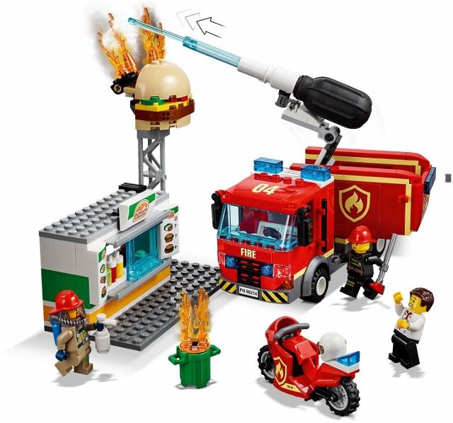 60215 Remiza Strażacka Fire Station Klocki Lego City Lego City