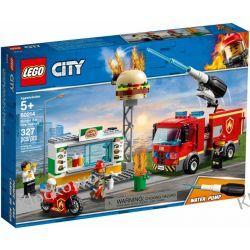 60214 NA RATUNEK W PŁONĄCYM BARZE (Burger Bar Fire Rescue) KLOCKI LEGO CITY
