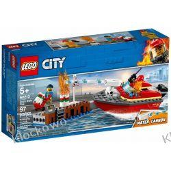 60213 POŻAR W DOKACH (Dock Side Fire) KLOCKI LEGO CITY