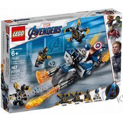 76123  KAPITAN AMERYKA : ATAK OUTRIDERÓW ( Captain America: Outriders Attack )- KLOCKI LEGO SUPER HEROES