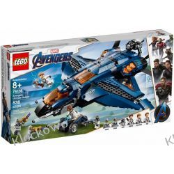 76126 WSPANIAŁY QUINJET AVENGERSÓW ( Avengers Ultimate Quinjet )- KLOCKI LEGO SUPER HEROES