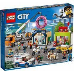 60233 OTWARCIE SKLEPU Z PĄCZKAMI (Donut shop opening) KLOCKI LEGO CITY