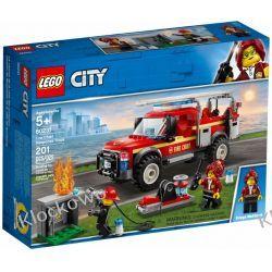 60231 TERENÓWKA KOMENDANTKI STRAŻY POŻARNEJ (Fire Chief Response Truck) KLOCKI LEGO CITY