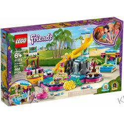 41374 IMPREZA ANDREI NA BASENIE (Andrea's Pool Party) KLOCKI LEGO FRIENDS