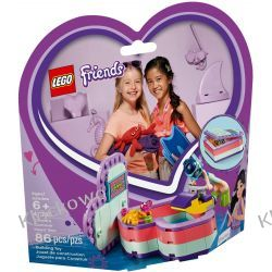 41385 PUDEŁKO PRZYJAŹNI EMMY (Emma's Summer Heart Box) KLOCKI LEGO FRIENDS