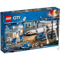 60229 TRANSPORT I MONTAŻ RAKIETY (Rocket Assembly &Transport) KLOCKI LEGO CITY