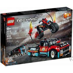 42106 FURGONETKA I MOTOCYKL KASKADERSKI (Stunt Show Truck & Bike) KLOCKI LEGO TECHNIC