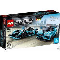 76898 Formula E Panasonic Jaguar Racing GEN2 Car & Jaguar I-PACE eTROPHY KLOCKI LEGO SPEED CHAMPIONS