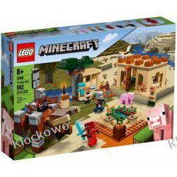 21160 NAJAZD ZŁOSADNIKÓW (The Illager Raid)- KLOCKI LEGO MINECRAFT