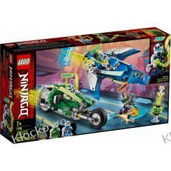 71709 WYŚCIGÓWKI JAYA I LLOYDA (Jay and Lloyd's Velocity Racers) KLOCKI LEGO NINJAGO
