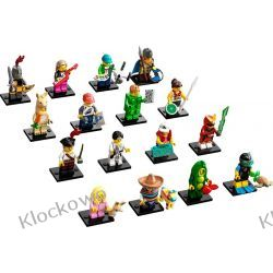 71027 MINIFIGURKI LEGO 20 SERIA -  KOMPLET 16 SZT