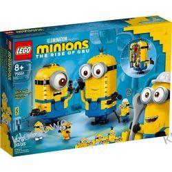 75551 MINIONKI Z KLOCKÓW I ICH GNIAZDO (Brick-built Minions and their Lair) - KLOCKI LEGO STAR WARS