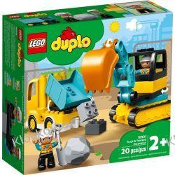 10931 CIĘŻARÓWKA I KOPARKA GĄSIENICOWA (Truck & Tracked Excavator) KLOCKI LEGO DUPLO