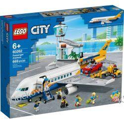60262 SAMOLOT PASAŻERSKI (Passenger Aeroplane) KLOCKI LEGO CITY