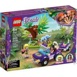 41421 NA RATUNEK SŁONIĄTKU (Baby Elephant Jungle Rescue) KLOCKI LEGO FRIENDS