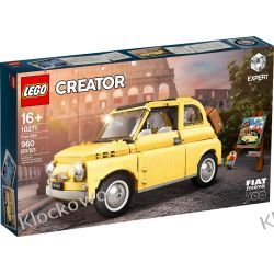 10271 FIAT 500 - KLOCKI LEGO EXCLUSIVE
