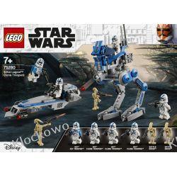 75280 ŻOŁNIERZE KLONY Z 501 LEGIONU (501st Legion Clone Troopers) - KLOCKI LEGO STAR WARS