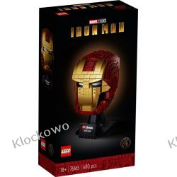 76165 HEŁM IRON-MANA - KLOCKI LEGO SUPER HEROES