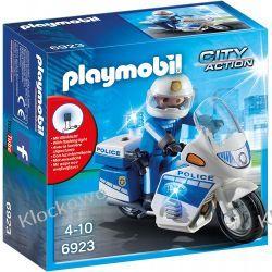 PLAYMOBIL 6923 MOTOR POLICYJNY ZE ŚWIATŁEM LED
