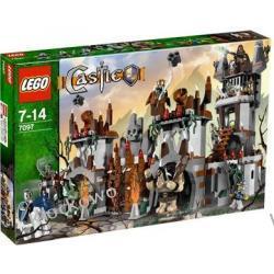7097 GÓRSKA FORTECA TROLLI KLOCKI LEGO CASTLE
