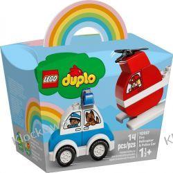 10957 HELIKOPTER STRAŻACKI I RADIOWÓZ (Fire Helicopter & Police Car) KLOCKI LEGO DUPLO
