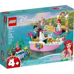 43191 ŚWIĄTECZNA ŁÓDŹ ARIELKI (Ariel's Celebration Boat) KLOCKI LEGO DISNEY PRINCESS