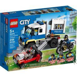 60276 POLICYJNY KONWÓJ WIĘZIENNY (Police Prisoner Transport) KLOCKI LEGO CITY