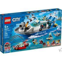 60277 POLICYJNA ŁÓDŹ PATROLOWA (Police Patrol Boat) KLOCKI LEGO CITY