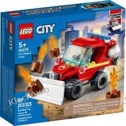 60279  MAŁY WÓZ STRAŻACKI (Fire Hazard Truck) KLOCKI LEGO CITY