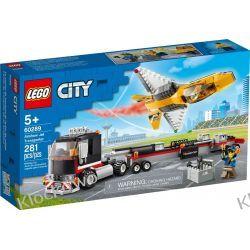 60289 TRANSPORTER ODRZUTOWCA POKAZOWEGO (Airshow Jet Transporter) KLOCKI LEGO CITY