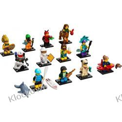 71029 MINIFIGURKI LEGO 21 SERIA -  KOMPLET 12 SZT