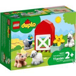 10949 ZWIERZĘTA GOSPODARSKIE (Farm Animal Care) KLOCKI LEGO DUPLO