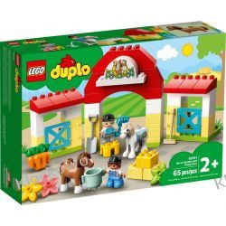 10951 STADNINA I KUCYKI (Horse Stable and Pony Care) KLOCKI LEGO DUPLO