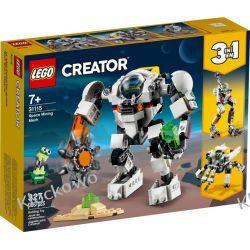 31115 KOSMICZNY ROBOT GÓRNICZY (Space Mining Mech) KLOCKI LEGO CREATOR