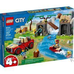 60301 TERENÓWKA RATOWNIKÓW DZIKICH ZWIERZĄT (Wildlife Rescue Off-Roader) KLOCKI LEGO CITY