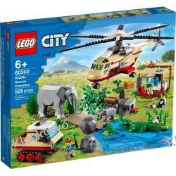 60302 NA RATUNEK DZIKIM ZWIERZĘTOM (Wildlife Rescue Operation) KLOCKI LEGO CITY