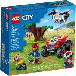 60300 QUAD RATOWNIKÓW DZIKICH ZWIERZĄT (Wildlife Rescue ATV) KLOCKI LEGO CITY