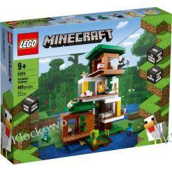 21174 NOWOCZESNY DOMEK NA DRZEWIE (The Modern Treehouse)- KLOCKI LEGO MINECRAFT