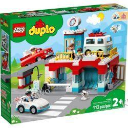 10948 PARKING PIETROWY I MYJNIA (Parking Garage and Car Wash) KLOCKI LEGO DUPLO