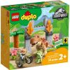 10939 UCIECZKA TYRANOZAURA I TRICERATOPSA (T. rex and Triceratops Dinosaur Breakout) - KLOCKI LEGO DUPLO