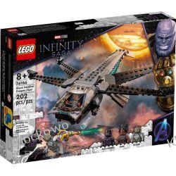 76186 HELIKOPTER CZARNEJ PANTERY (Black Panther Dragon Flyer ) - KLOCKI LEGO SUPER HEROES