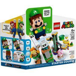 71387 PRZYGODY Z LUIGIM - ZESTAW STARTOWY (Adventures with Luigi) - KLOCKI LEGO SUPER MARIO