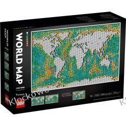 31203 MAPA ŚWIATA (World Map) - KLOCKI LEGO ART