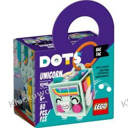 41940 ZAWIESZKA Z JEDNOROŻCEM (Bag Tag Unicorn) KLOCKI LEGO DOTS