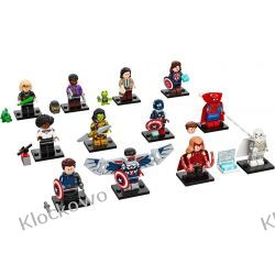 71031 MINIFIGURKI LEGO SERIA MARVEL (LEGO Marvel Studios Series)-  KOMPLET 12 SZT