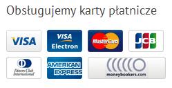 Obsługujemy karty płatnicze / Bezpieczne zakupy na NaszaDrukarka.pl