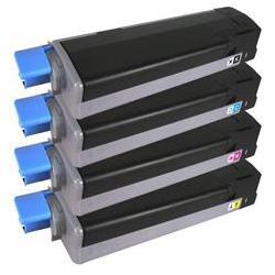 Toner magenta OKI C710 C711, OKI 44318606 zamiennik nowy