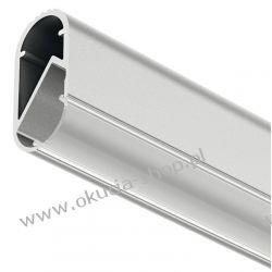 PROFIL ALUMINIOWY DO TAŚM LED dł.2500mm jako drążek na ubrania System12V Häfele 833.72.790