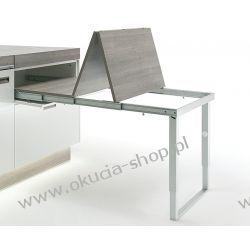 Okucie składane do stołów rozkładanych ze składaną nogą do szer. 562mm Häfele 642.19.924
